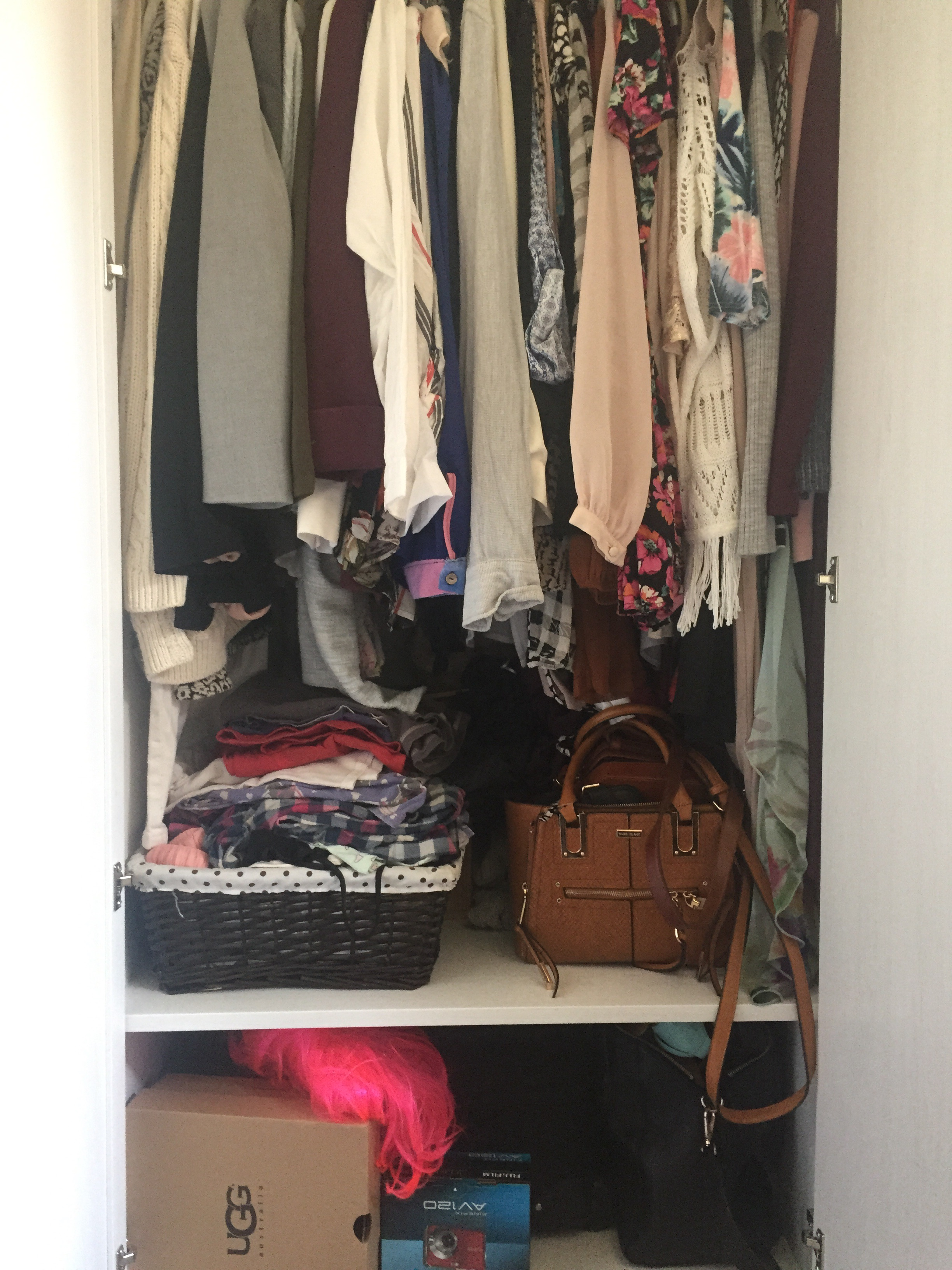 Wardrobe clear out!