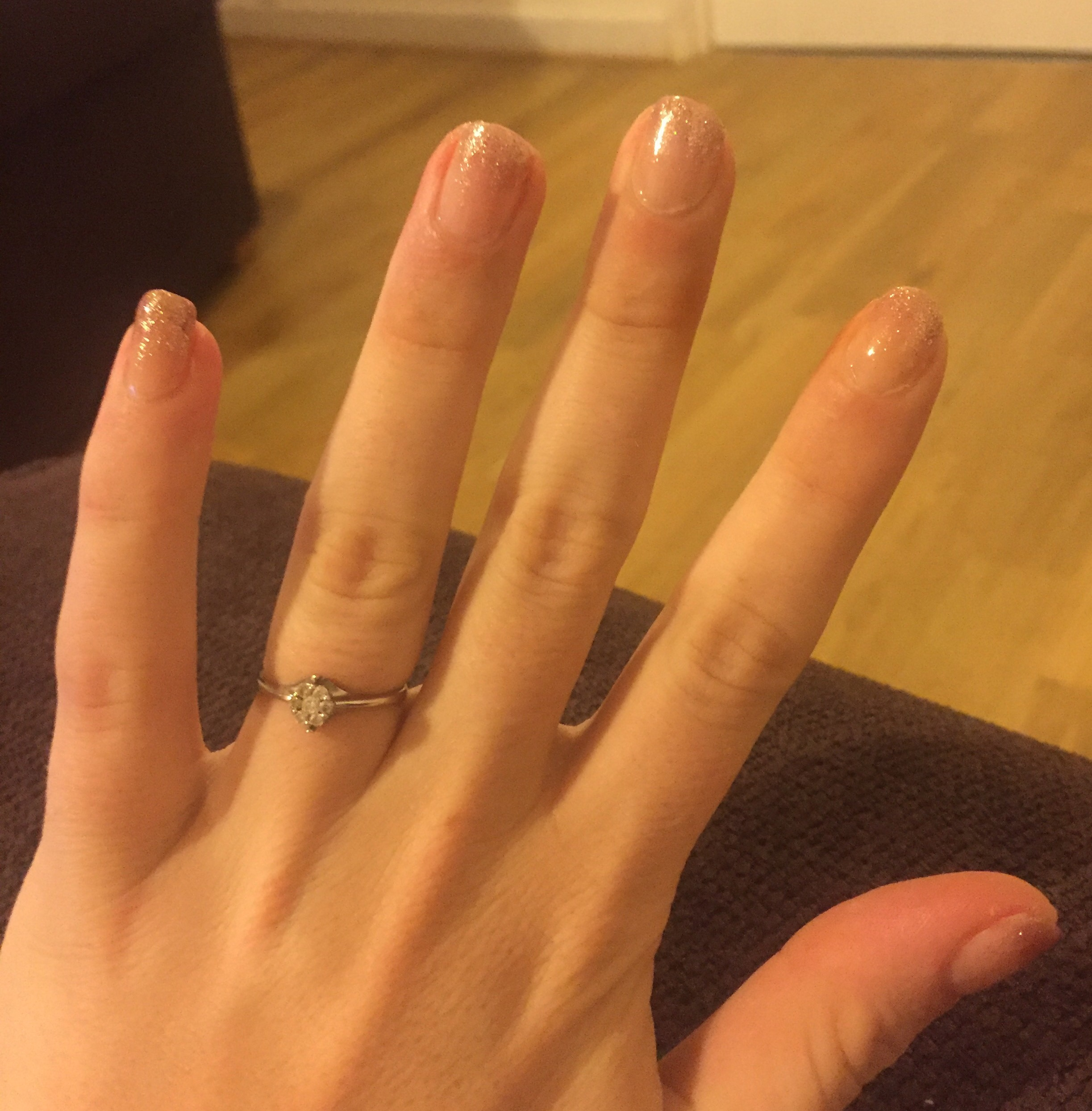 At home gel manicures