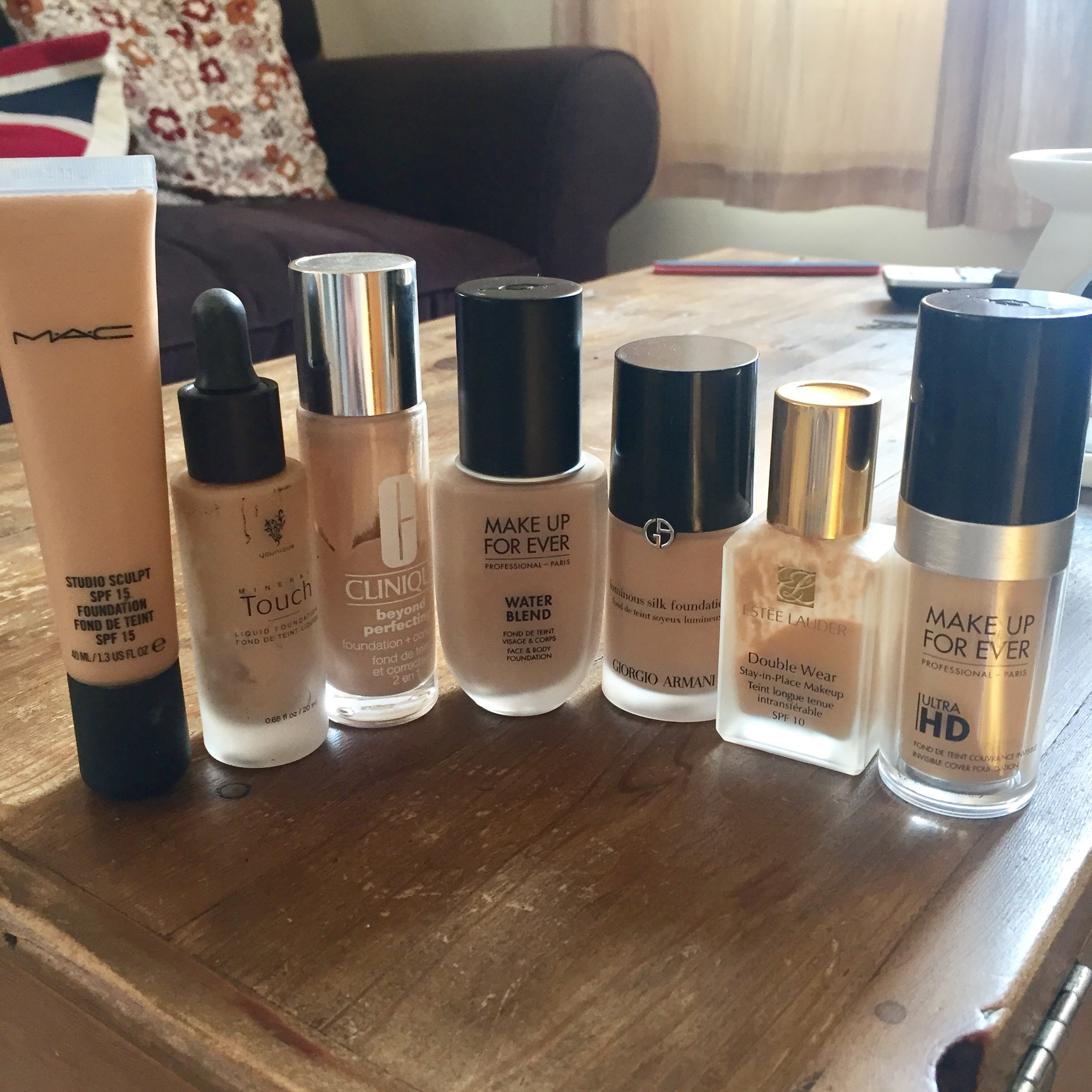 Foundation face off!