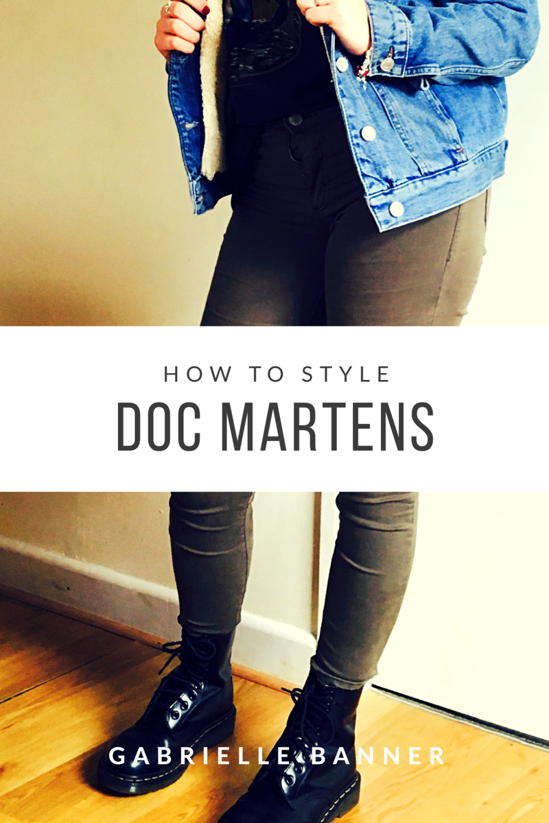 How I style Doc Martens