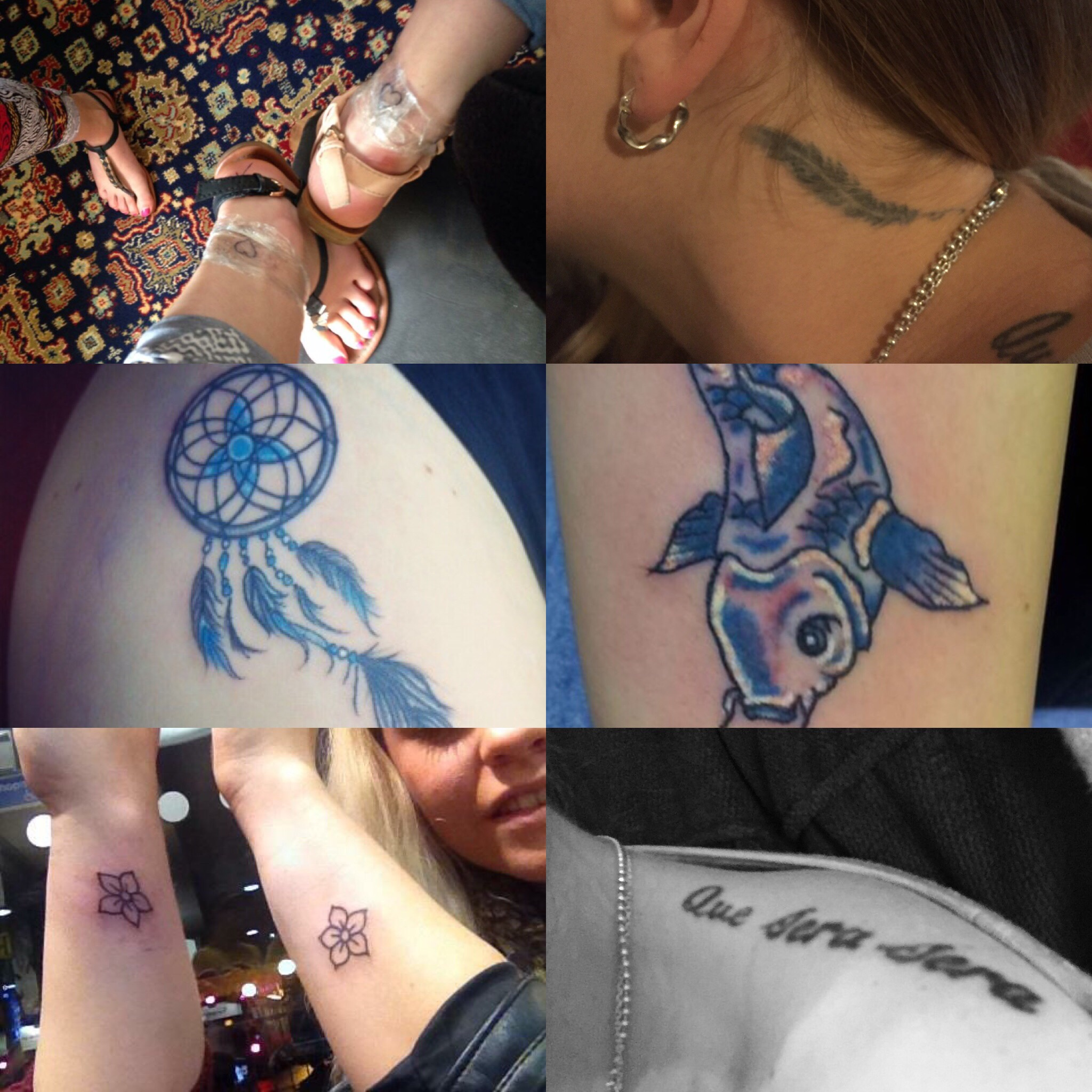 Regretting tattoos…