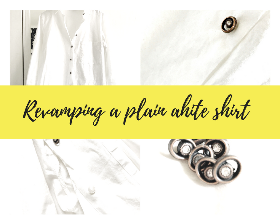 How to revamp your white shirt