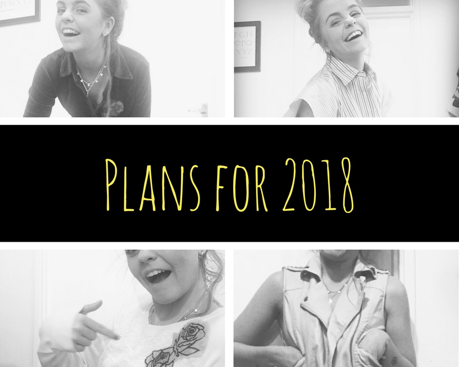 My Plans for 2018