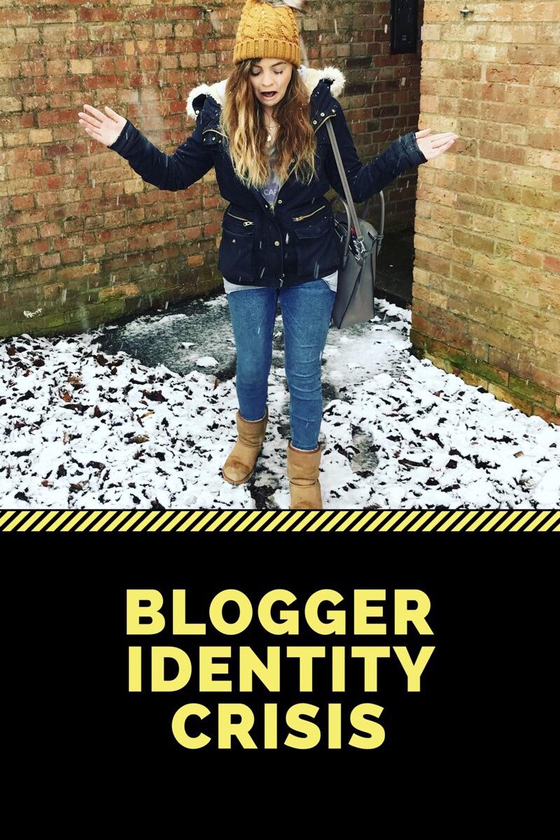 Blogger Identity Crisis