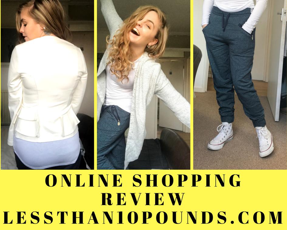 Less Than Ten Pounds Online Shopping Review