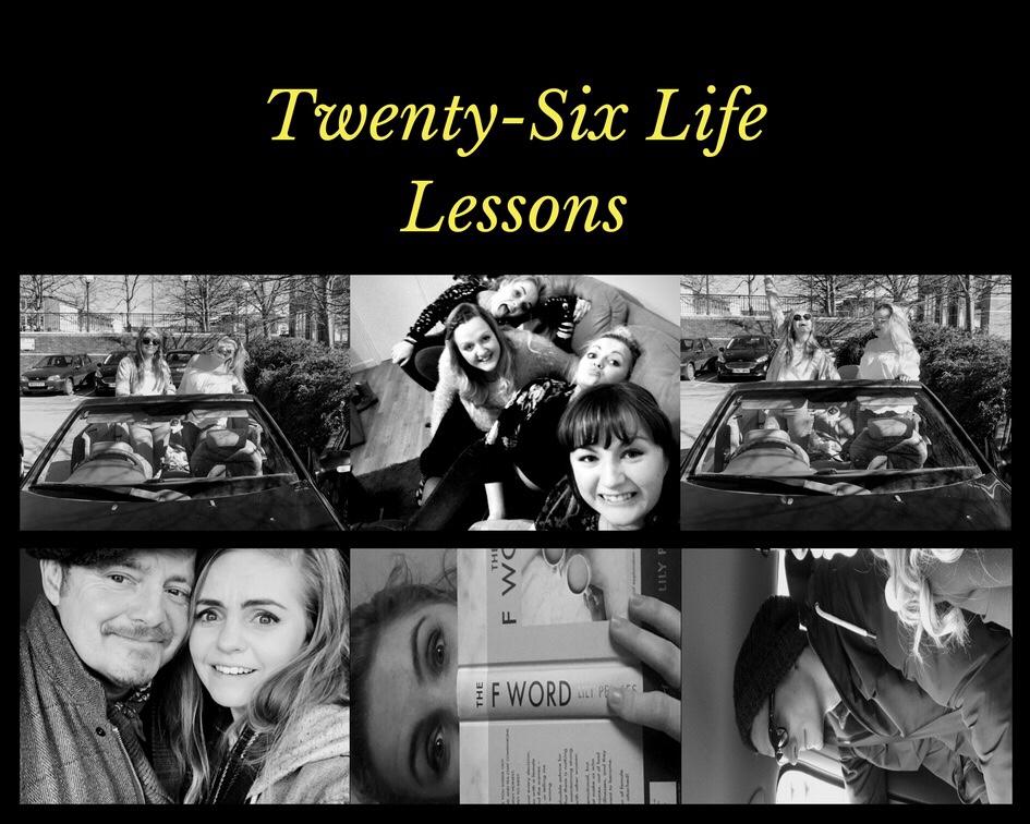 Another year older – twenty six things I've learnt in twenty six years
