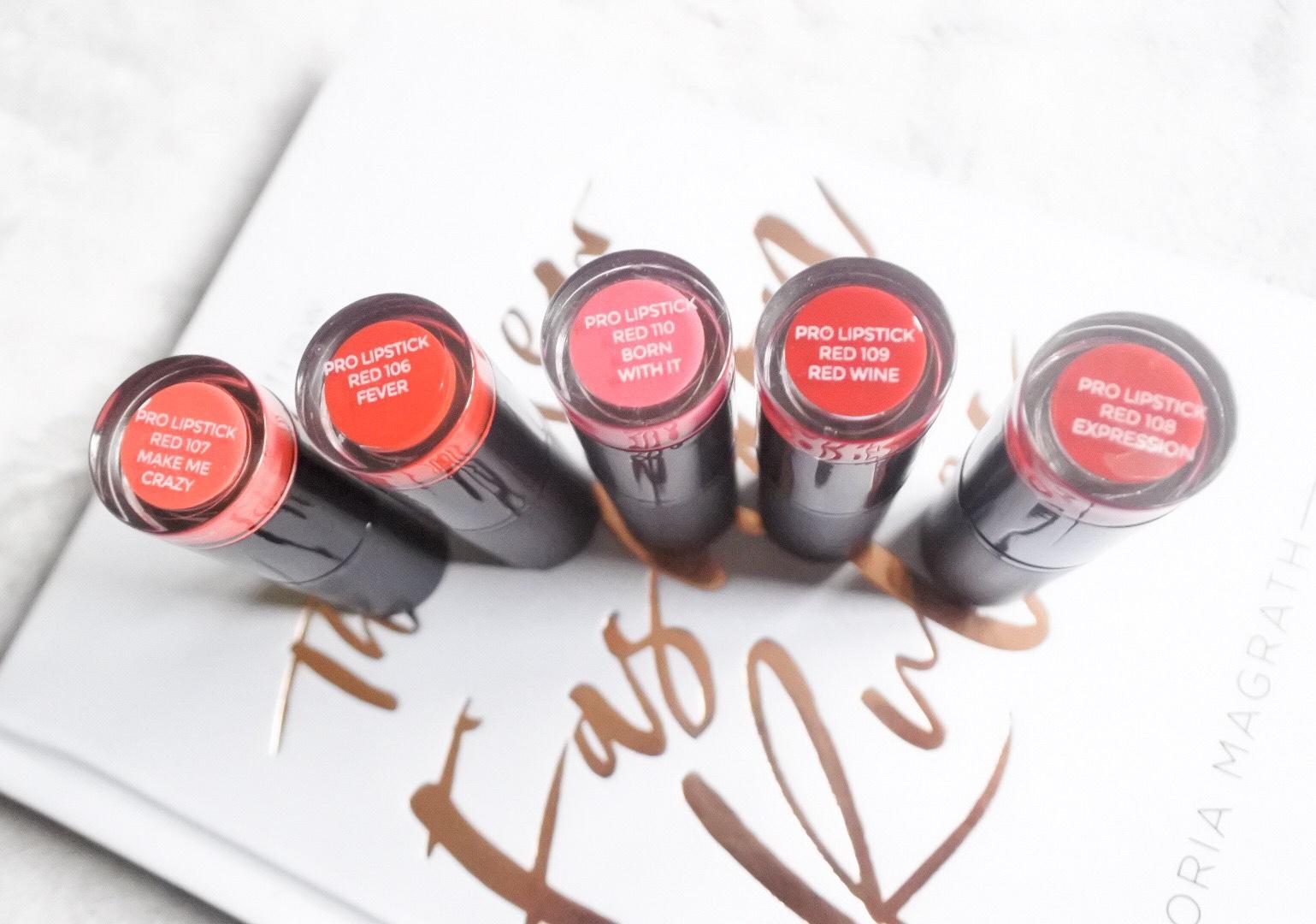 Revolution Pro Lipstick Review