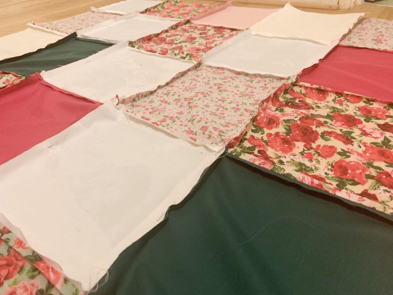 How I made a patchwork quilt