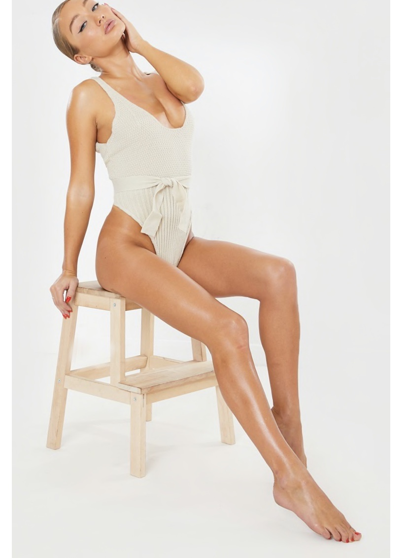 In The Style Knitted Bodysuit